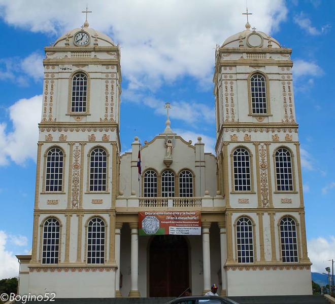 The church in Sarchi.
