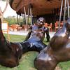 Sitting Statue at El Mangroove
