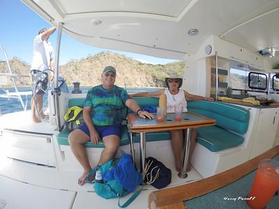 Carol & Jim ready to snorkle