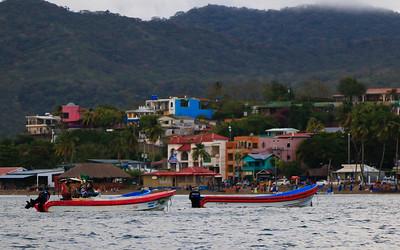 the coast of Honduras