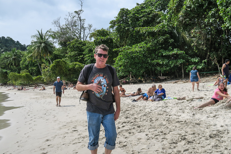 Steve at Manuel Antonio National Park, Costa Rica
