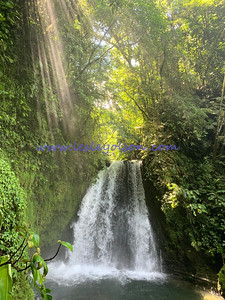 Arenal waterfall