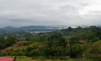San Isidro De El General in the distance