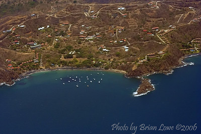More vista from the airplane over Guanacaste