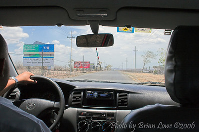Taxi ride from Liberia International to Tamarindo