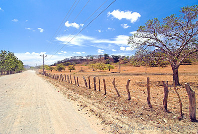 Highway in Guanacaste CR