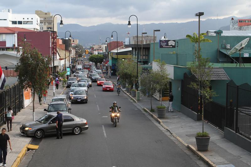 Bustling San Jose, Costa Rica