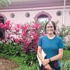 Audrey, Plaza del benemenrito Gernal Guardia, Alajuela,  Costa Rica.  July, 2015