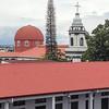 Plaza del benemenrito Gernal Guardia, Alajuela,  Costa Rica.  July, 2015