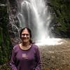 Audrey rain forest waterfall, Sky Limit Experience, La Fortuna. July, 2015
