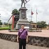 Audrey's guide, Plaza del benemenrito Gernal Guardia, Alajuela,  Costa Rica.  July, 2015