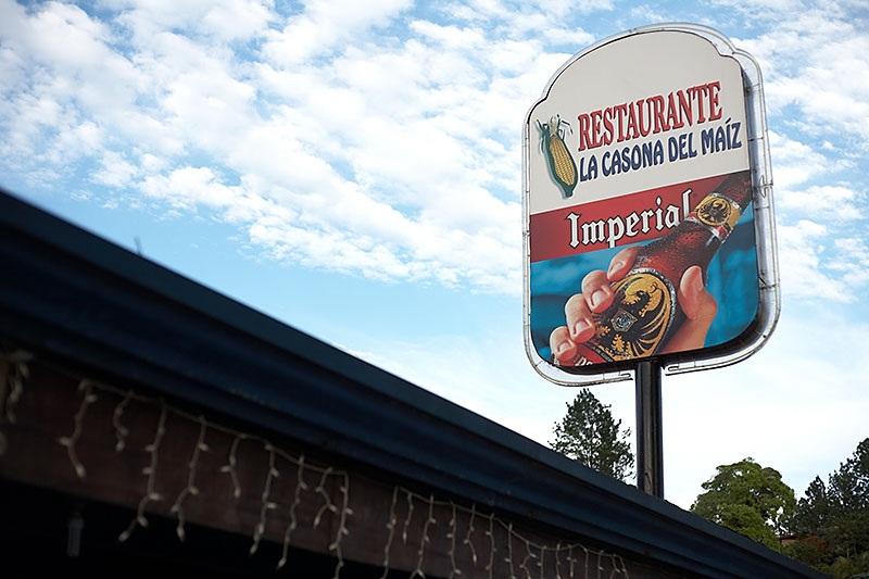 After landing at the San Jose airport, we hopped in a private taxi for the long ride out to Playa Carillo. We didn't get much to eat on the plane so we asked the driver to stop some where for food.<br /> <br /> Imperial is one of the local Costa Rican beers.