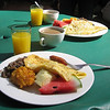 Orquideas claims to have the best breakfast in Costa Rica, and it is indeed quite good!