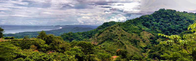 Panoramic Photo near Dominical Costa Rica, post-processed with ReDynamix