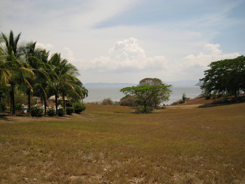 View from our room, La Ensenada, CR