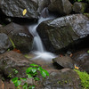 Small waterfall in La Fortuna, Arenal area