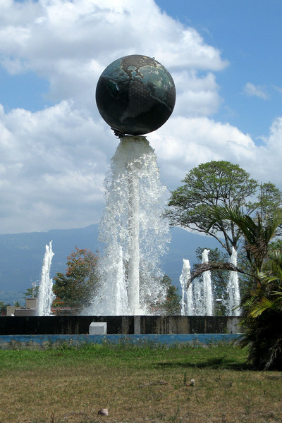 Earth and Water sculpture