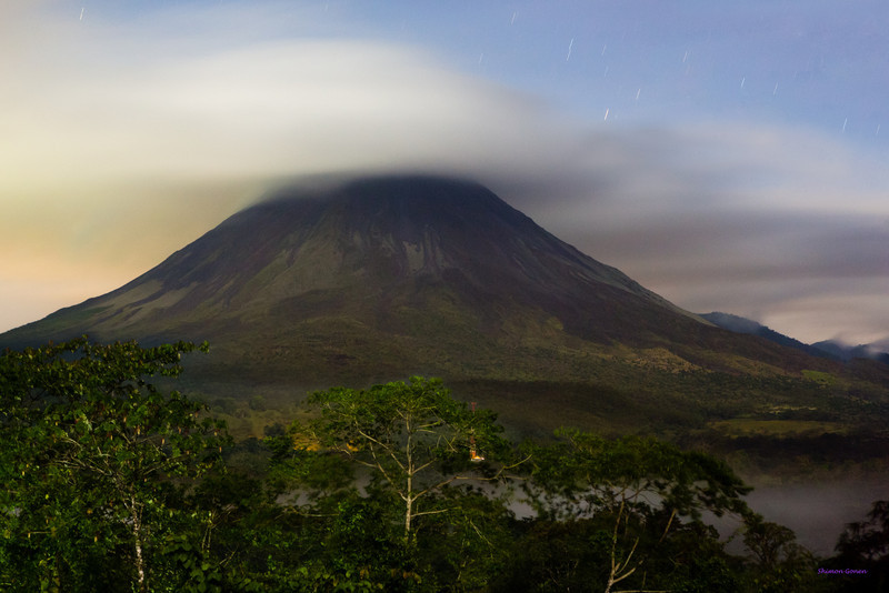Arenal a night - Costa Rica