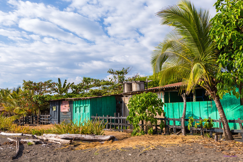 House on the beach - Costa Rica
