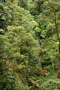 Zoomed in on the waterfall a bit  La Foruna, Arenal, Costa Rica