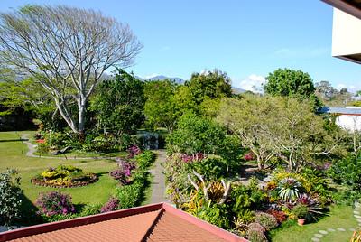 Bougainvillea Hotel gardens