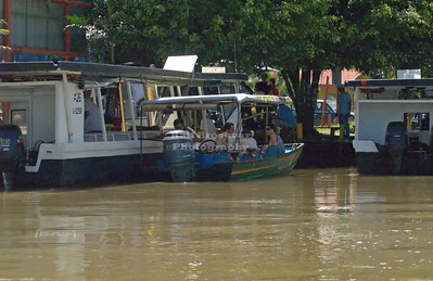 Leaving Caño Blanco, one of the embarkation points to Tortuguero National Park. From here it takes 2-3 hours by boat to reach the park