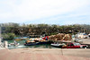 Porta Ayora- Busy port with loaded barges