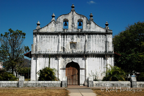 Iglesia de San Blas in Nicoya, Guanacaste Province, Costa Rica. © Rob Huntley