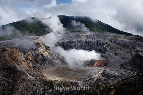 Poas Volcano - 2007