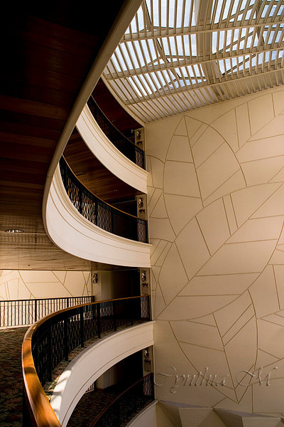 Interior of Inter Continental Hotel; San Jose