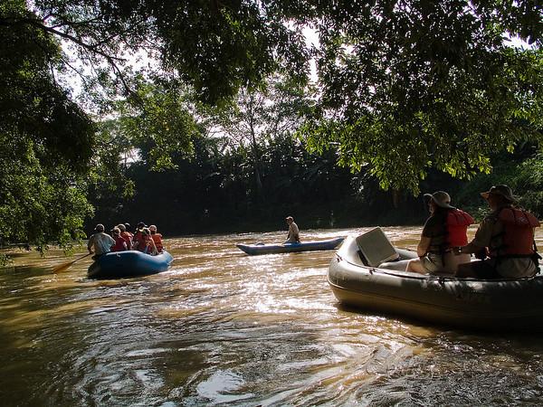 Penas Blancas River float trip