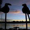Gigantic bird monument, Tortuguero