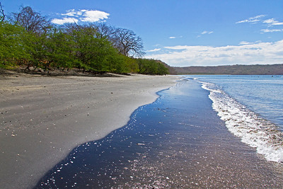 Papagayo Bay shoreline