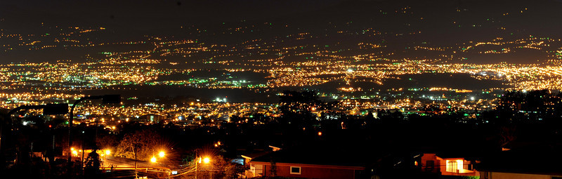 San Jose at night