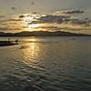 Sunset soccer and swim, Puerto Viejo