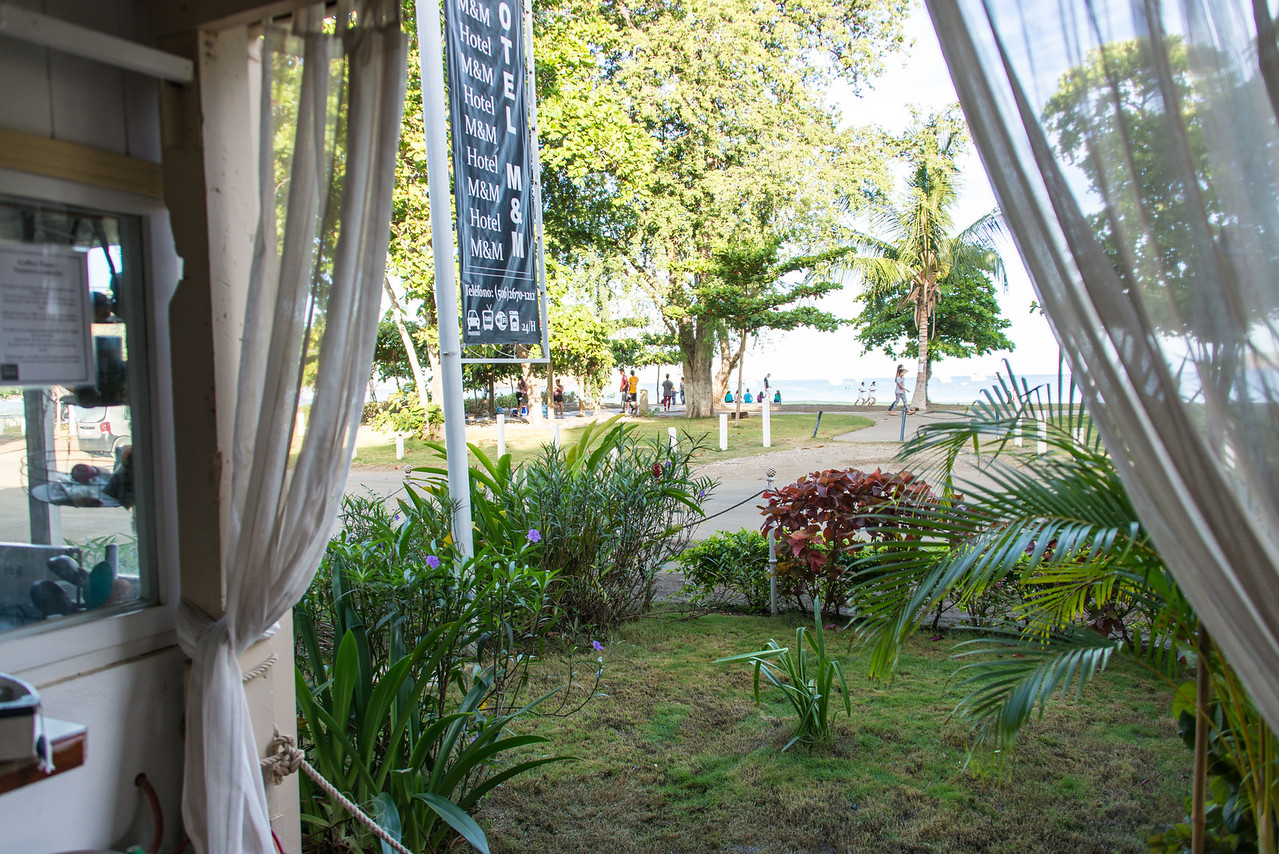 View from Hotel M&M in Playas Del Coco, Costa Rica - December 2014