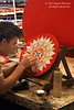Artisan, Hand Painting Decorative Ox Cart Wheels, Sarchi, Costa Rica, Central America