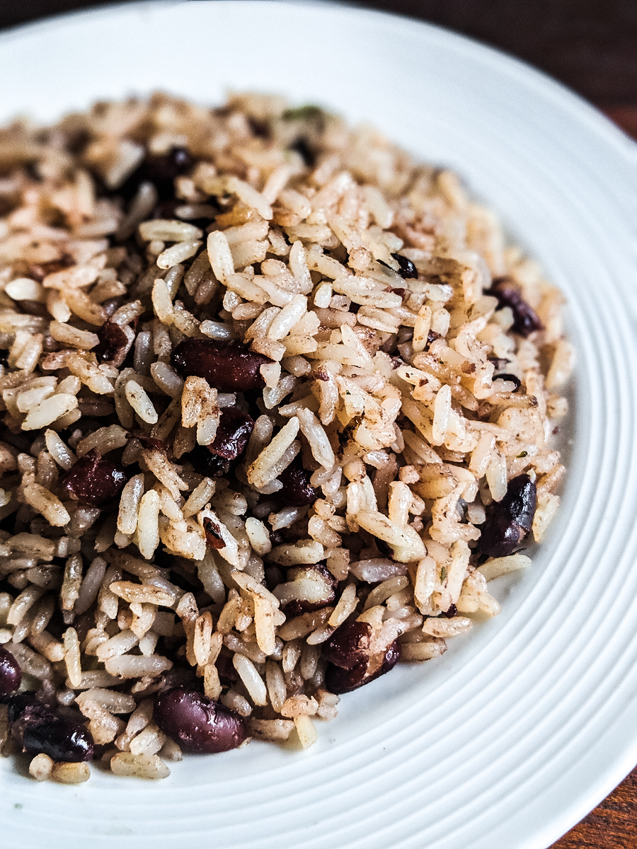Gallo pinto is a traditional Costa Rican food found on almost every table.