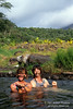Model Released, Two Woman, Tabacon Grand Spa Thrermal Resort, Tabacon Hot Springs at base of Arenal Volcano, Costa Rica, Central America