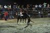 Bullfight chase