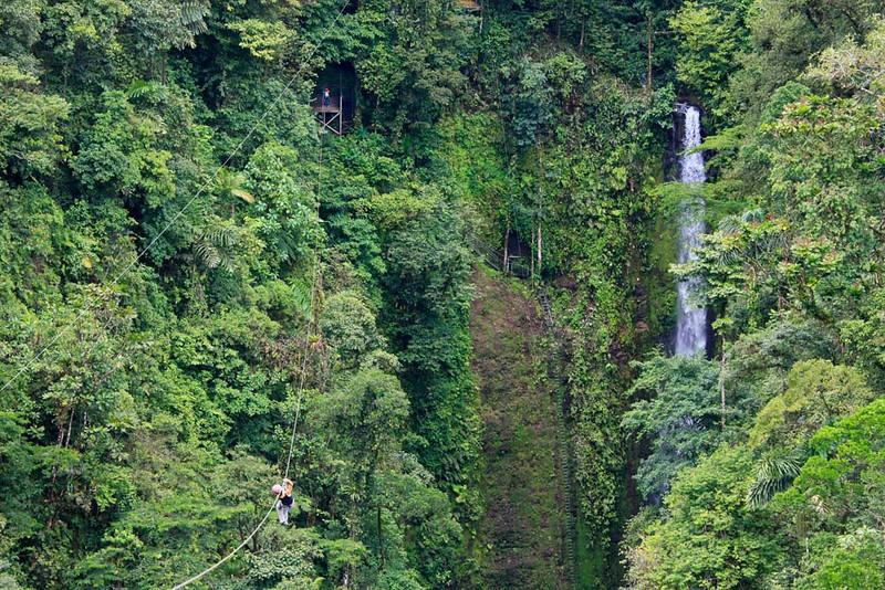 Ziplining Over La Fortuna Falls_ Costa Rica