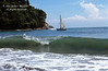 Sailboat, Pacific Ocean, Manuel Antonio National Park, Costa Rica, Central America
