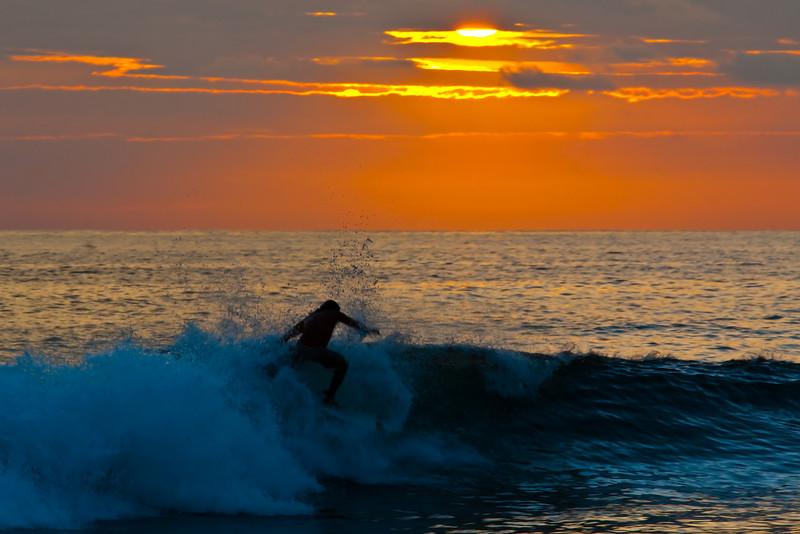 Surfer, Playa Hermosa