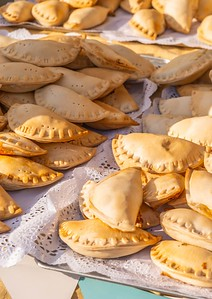Fried Empanadas Typical Of The Argentine Countryside Gastronomy