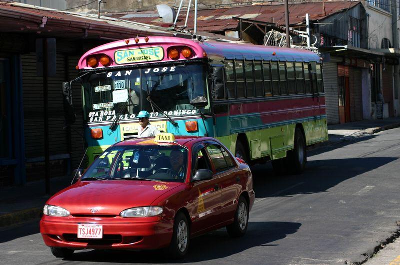 Buss ja takso San-Joses