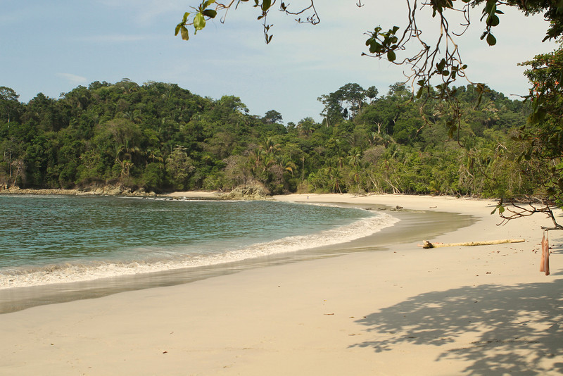 Beach in Manuel Antonio National Park