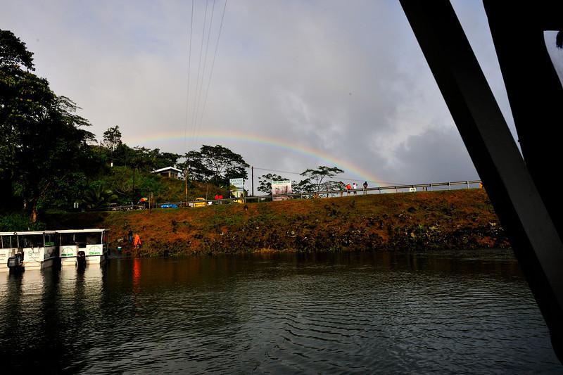 Lake Arenal rainbow