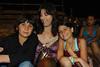 Henry, Ava and Jessica at bullfight