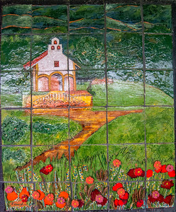 Tile Painting of Chapel