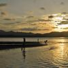 Sunset scene, Puerto Viejo